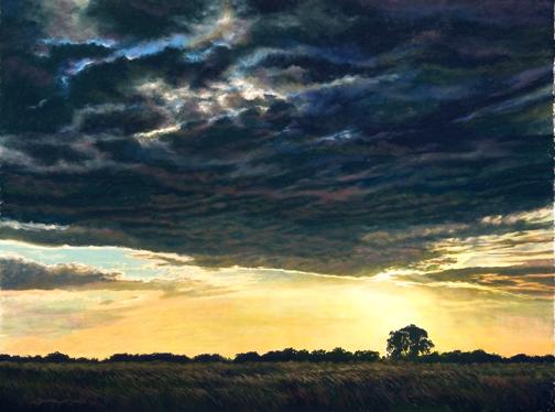 Pastel, Texas, Panhandle landscape