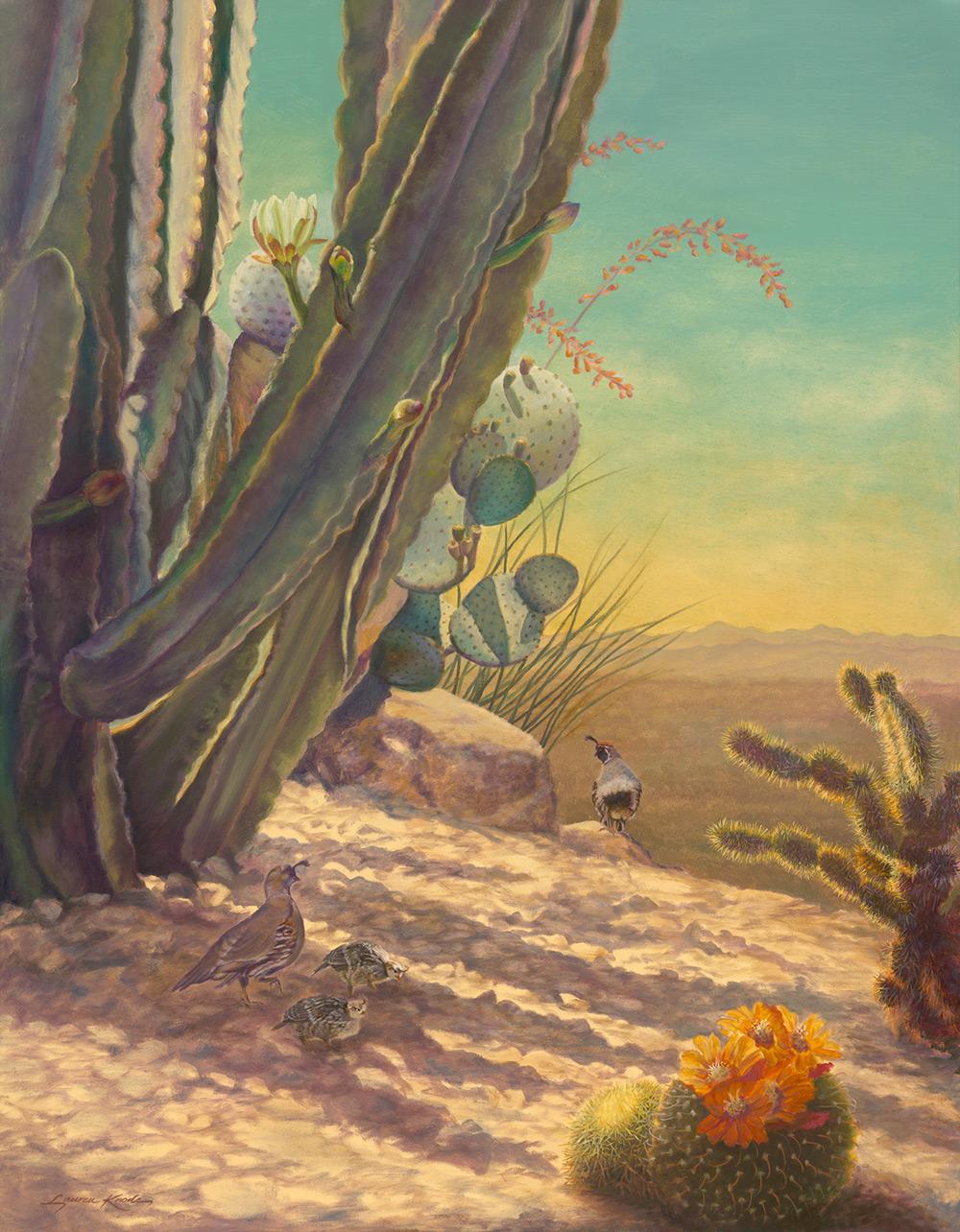 Desert Sentinel Sky & Landscape Print