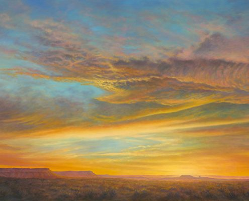 Mesa Sunset Aurora