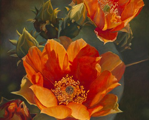 Persimmon Prickly Pear II