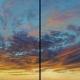 Swirl & Swish II, Skyscape, Southwest, Sunset