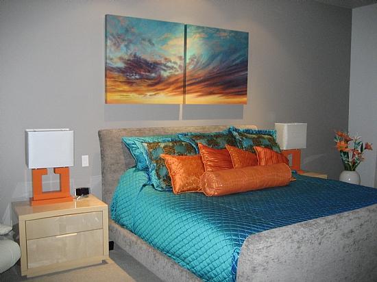 Skyscape Swirl and Swish Acrylic Painting
