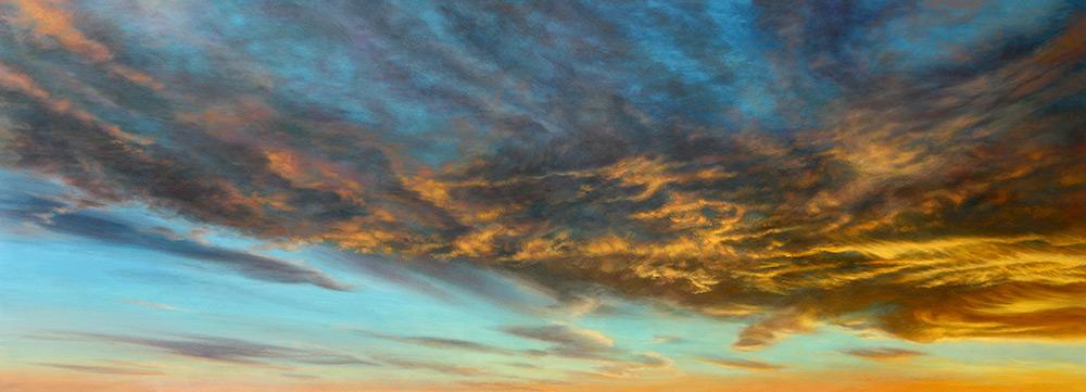 Cobalt Siena Illumination Sky & Landscape Prints