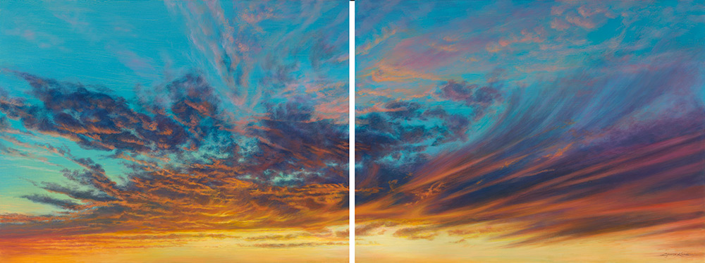 Swirl and Swish-II Sky & Landscape Prints
