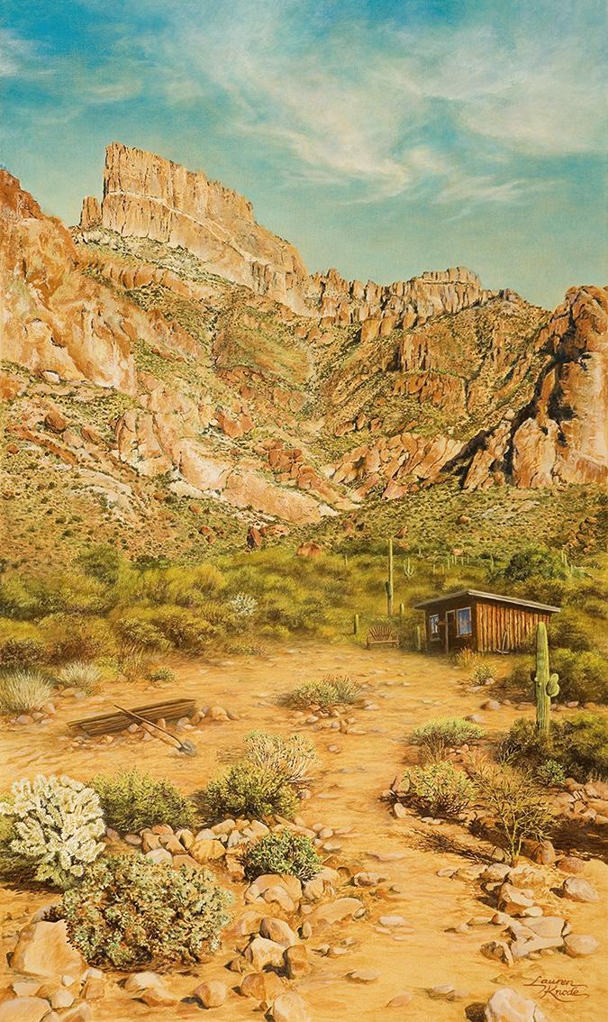 Flat Iron Miner's Cabin